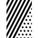 Schwarze Streifen/Punkte 2