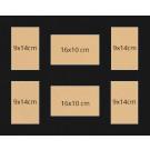 VL5 40x50cm Schwarz
