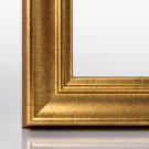 Doppelglas-Bilderrahmen ATHEN Blattgold 15 x 15 cm