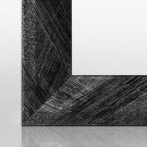 Posterrahmen RIA Schwarz Silber gebürstet 20 x 20 cm
