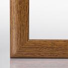 Puzzlerahmen VALENCIA Eiche rustikal (Dekor) 25 x 70 cm (ca. 500 Teile)