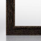 Bilderrahmen CLARA Eiche Schwarz 15 x 15 cm