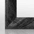 Bilderrahmen RIA Schwarz Silber gebürstet 15 x 21 cm (DIN A5)