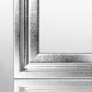 Schattenfugenrahmen GLADI10 Silberglanz Vintage 15 x 15 cm