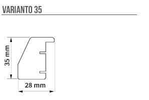 Varianto 35 sizes